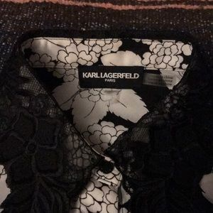 KARL LAGERFELD PARIS BUTTON UP
